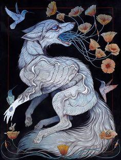 Caitlin Hackett ,Creative Animal Illustration #artpeople
