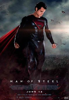 Man of Steel with Henry Cavill.... I haven't decided if I like the movie more or the fact that it's over two hours of pure Henry Cavill goodness =)