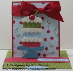 """Hi all, I got all of my new stamps and had to use the """"A Word For You"""" stamp set. There is a saying in the set that says """"happy birthday wi..."""