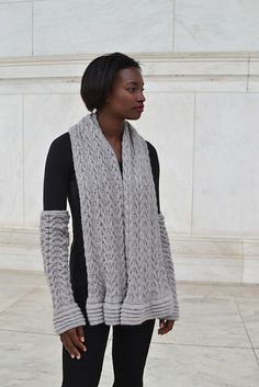 Ravelry: LaChaise pattern by Linda Marveng.
