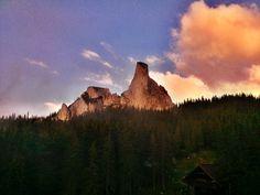Lady's Cliffs at Rarău Mountain (Alt: 1500 m)
