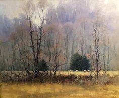 Elise Phillips, Winter Fields, 20x24
