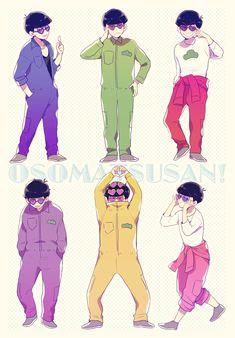 Osomatsu-san (M: cuties)