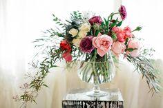 Jewel toned wedding inspiration   photos by Carina Skrobecki   100 Layer Cake