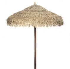 Artificial Java Thatch Umbrella.