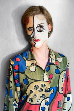 """Face it"" – Picasso, Makeup Art. on Behance"