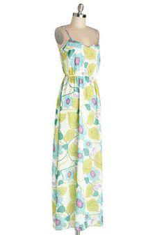 Watercolor Exhibition Dress, #ModCloth