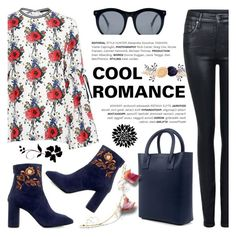 """Cool Romance"" by ifchic ❤ liked on Polyvore featuring Mother of Pearl, Citizens of Humanity, Eugenia Kim and Grey Ant"