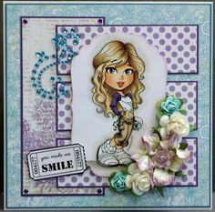 want this image...download diva by kenny k  card by Kards by Katie Kreations