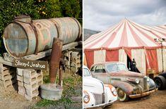 Vintage Circus Wedding: Stacey + Josh  For Wedding Accessories,visit us.  http://www.bridesadvantage.com