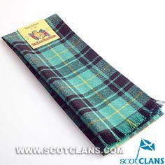 Clan MacArthur Ancient Tartan Scarf
