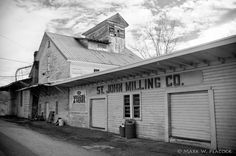 Appalachian Treks: St. John Milling Company  Founded in the 1770s, the St. John Milling Company of Watauga, TN was the longest continuously operating business in Tennessee until it closed its doors last year.