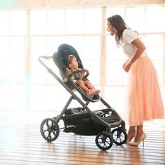 Joovy - poussette qool - gris melange Double Baby Strollers, Twin Strollers, Amazon Prime Day, Best Amazon, Single Stroller, T Baby, Toddler Outfits, Pink Blue, Baby Car Seats