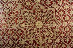Rajasthan Textiles- zardosi: tightly coiled 3-D metal thread embroidery