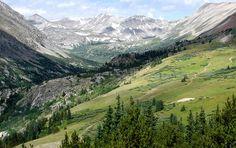 Wheeler Lake area, in the mountains near Alma, Colorado mountains