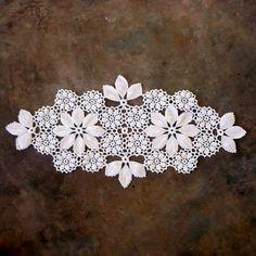Decoración Vintage Crochet mesa Centro Portugués por CostaSul