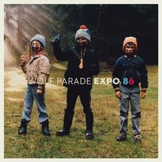"""Expo 86 is the third full-length album by Canadian indie rock band Wolf Parade. It was released on 29 June """"Expo was reco. Commonwealth, Lp Vinyl, Vinyl Records, Wolf Parade, Cool Album Covers, Best Albums, Record Collection, Queen Mary, Expo"""