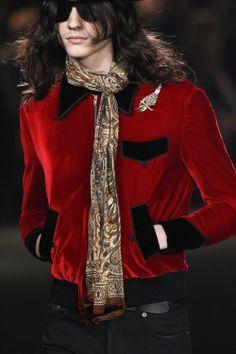 Saint Laurent Fall 2016 Menswear