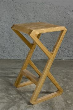 Chair Design Ideas Woodworking is a multifaceted craft that can result in many beautiful and useful pieces. If you are looking to learn about woodworking, then you have came to the right place. Wooden Stool Designs, Chair Design Wooden, Wooden Stools, Wood Furniture, Furniture Design, Wooden Plane, Wood Toys Plans, Restaurant Tables And Chairs, Cool Chairs
