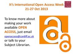 Open Access Week 2013 | Flickr - Photo Sharing!