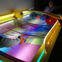 Wik Skate ivelt léghoki asztal Wii, Skate