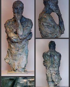 ´Sagace' bronze 110 cm by Catherine Thiry