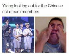 I'm not crying,I'm dying