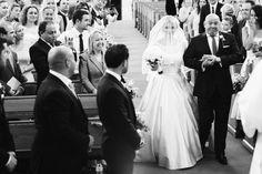 Photography: Weddings By Nicola And Glen - www.weddingsbynicolaandglen.com/   Read More on SMP: http://www.stylemepretty.com/destination-weddings/2016/01/12/classic-black-tie-countryside-wedding-at-botleys-mansion/