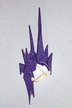 Philip Treacy Swarovski Crystal Purple Headpiece Profile Photo