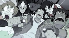 Do you see that!!! Keith is hanging on to Lance like he never wants to let go, grant that it's the same for everyone else but still look at that shit