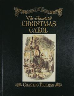 The Annotated Christmas Carol - Charles Dickens - Intro - Michael Patrick Hearn - 1989 1st Edition by BasketCaseBooks on Etsy