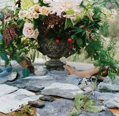 Ruffled - photo by Tulip and Rose Photography http://ruffledblog.com/annabel-lee-wedding-inspiration