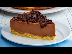 Rychlý recept na dort s nejintenzivnější ČOKOLÁDOVOU chutí. Připravíte ho opravdu snadno| Chutný TV - YouTube Food Cakes, Chocolate, Biscuits, Quick Cake, Cake Recipes, Cheesecake, Food And Drink, Baking, Easy