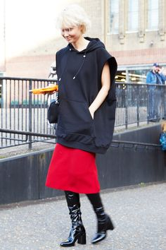 Street Style | via Vogue Japan