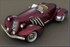 1936 Auburn Speedster.  So cool!
