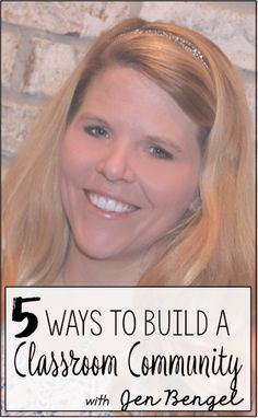 Out of This World Literacy : Day Eight: 5 Ways to Build A Classroom Community o...