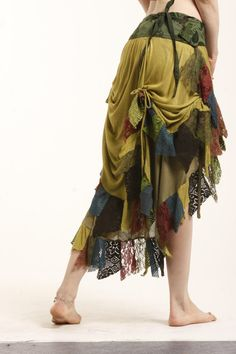 FLAMENCO SKIRT  assorted colours wrap Skirt by GekkoBoHotique