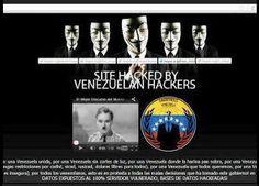 Masivo ataque cibernético a los sitios web del gobierno de Venezuela