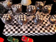 Car themed 40th Birthday party Birthday Party Ideas | Photo 12 of 16 | Catch My Party