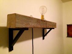 DIY Light with switcher on 4x4 barn