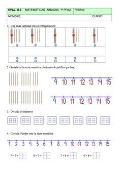Evaluación Unidad 3 Matemáticas ABN