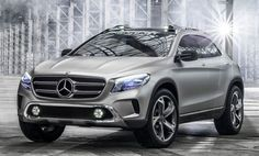 Mercedes-Benz GLA Concept crossover leaked ahead of Shanghai debut