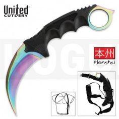 United Honshu Karambit Rainbow