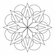 mandala vorlagen innere Ordnung