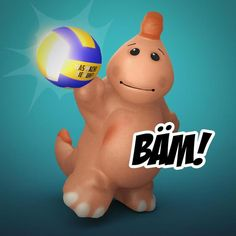 For last week-end... Volleyball Challenge.