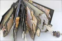 **SEE HOW-TO MAKE** this EASY, FUN & FAST Prima Paper Bag Mini Album!!!