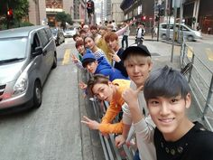 Why do you need a selfie stick when you have Mingyu