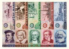 Geldscheine der DDR.