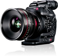 The Canon EOS C300 Cinema EOS Camcorder Body (EF Lens Mount) takes what professionals love about DSLR filmmaking – access to a vast selection of widely available lenses, a large sensor that facilitates a shallow depth of field, and portable operation with a modular, compact camera – and addresses its shortcomings.