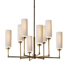 Ziyi Chandelier by Thomas O'Brien for Visual Comfort